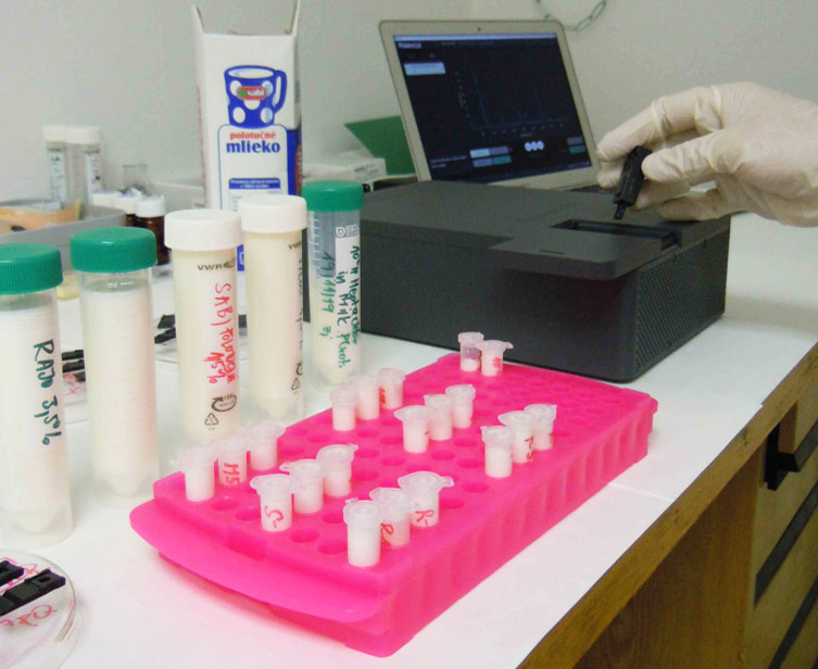 PickMol technology applied for direct detection of pesticides in milk samples